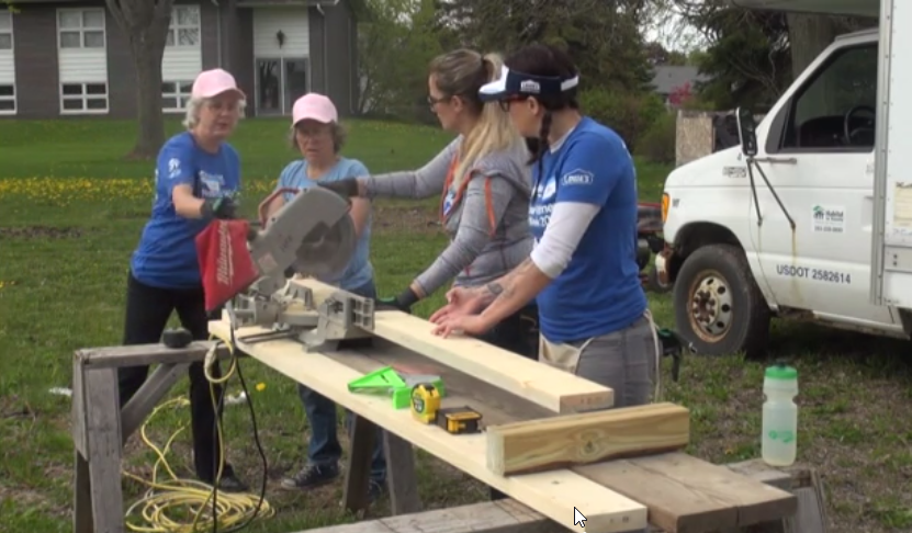 Women Build 2017 Video